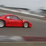 Ferrari F40 1988 Red circuit moving