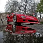 Ferrari F40 1988 Red low city