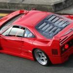 Ferrari F40 1988 Red rear top