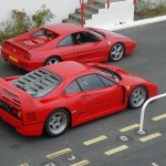 Ferrari F40 1988 Red with F355