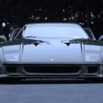 Ferrari F40 1988 classic front low clear