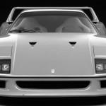 Ferrari F40 1988 classic front low light