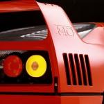Ferrari F40 1988 classic rear wing light