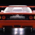 Ferrari F40 1988 engine rear view