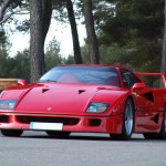 Ferrari F40 1988 french red low