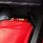 Ferrari F40 1988 interior fire extinguisher passenger seat