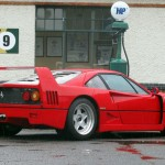 Ferrari F40 1988 petrol station rear