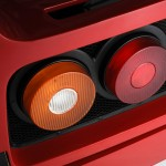 Ferrari F40 1988 rear lights