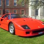 Ferrari F40 1988 red UK