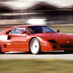 Ferrari F40 1988 red speed