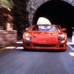 Ferrari F40 1988 red speed front