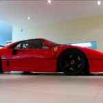 Ferrari F40 1988 side low