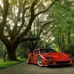 Ferrari F40 1988 updated trees