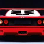 Ferrari F40 1988Red Rear Classic