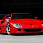 Ferrari F40 LM Front angle