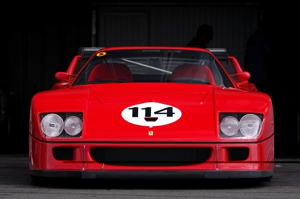 Ferrari F40 LM front low