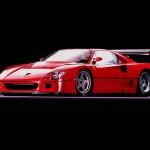 Ferrari F40 LM profile front lights