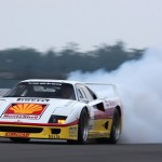Ferrari F40 LM racing shell circuit