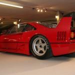 Ferrari F40 LM showroom rear