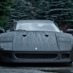 Ferrari F40 carbon front