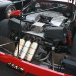 Ferrari F40 engine bay