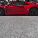 Ferrari F40 oz racing wheels