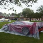 Ferrari F40 under cover