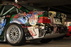 BMW Artcar Exhibition London 2012