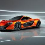 McLaren P1 Paris design concept - front nearside