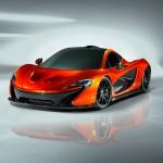 McLaren P1 Supercar Paris Motorshow front view