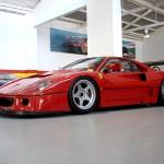 Ferrari F40 LM Competizione front Serial Number 97881