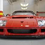 Ferrari F40 LM Competizione front low