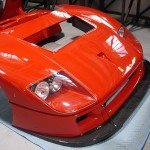 Ferrari F40 LM Competizione front nose cowling detail Serial Number 97881