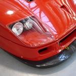 Ferrari F40 LM Competizione front splitter detail Serial Number 97881