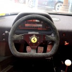 Ferrari F40 LM Competizione interior digital dash closeup wheel Serial Number 97881