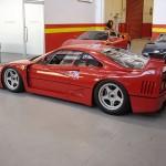 Ferrari F40 LM Competizione profile Serial Number 97881