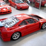 Ferrari F40 LM Competizione profile high side Serial Number 97881