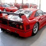 Ferrari F40 LM Competizione rear Serial Number 97881