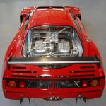 Ferrari F40 LM Competizione rear splitter high Serial Number 97881