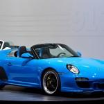 Porsche 911 997 speedster front side
