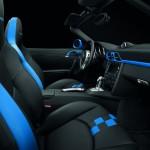 Porsche 911 997 speedster rear interior