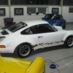 Porsche 911 Carrera RS 930 rear showroom