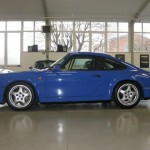 Porsche 911 Carrera RS 964 blue side