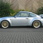 Porsche 911 Carrera RS 964 silver side
