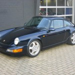 Porsche 911 Carrera RS 964 front blue