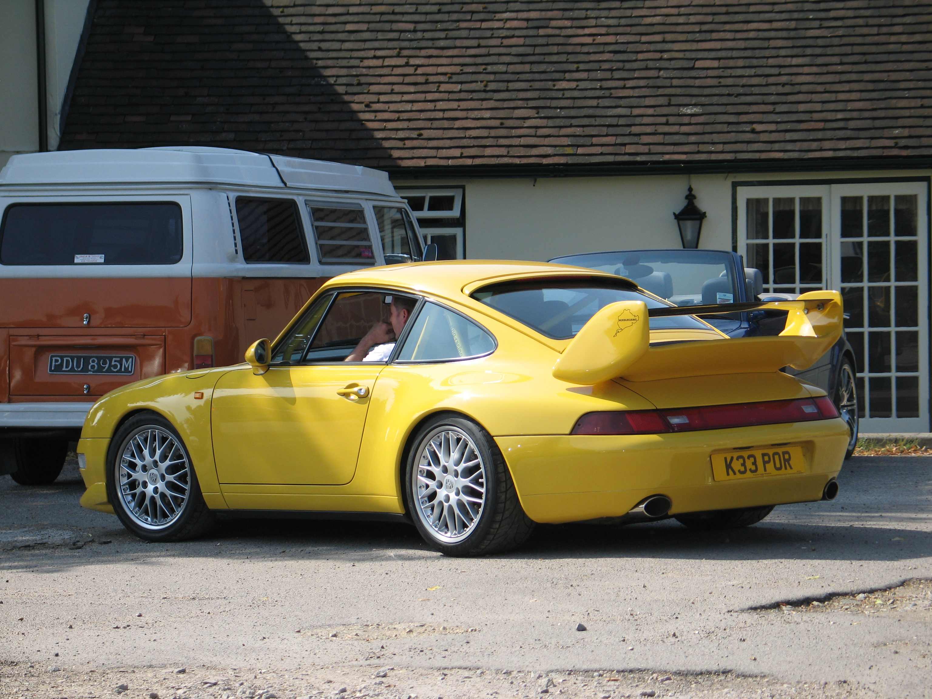 porsche 911 carrera rs 993 rear revival sports cars. Black Bedroom Furniture Sets. Home Design Ideas