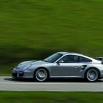 Porsche 911 GT2 997 silver