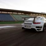 Porsche 911 GT2 RS 997 rear detail