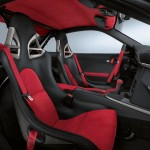 Porsche 911 GT2 RS 997 silver interior red black