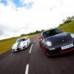 Porsche 911 GT3 Cup 997 front RS track